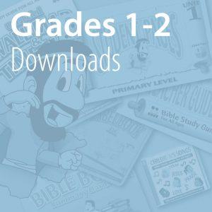 Grades 1-2 Downloads