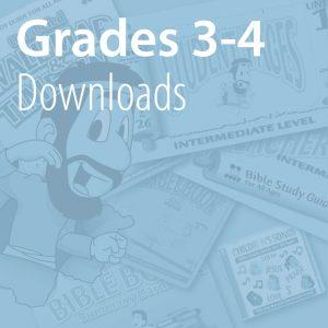 Grades 3-4 Downloads