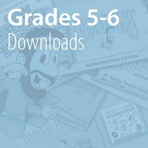 Grades 5-6 Downloads