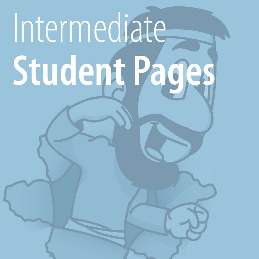 Intermediate Student Pages tile