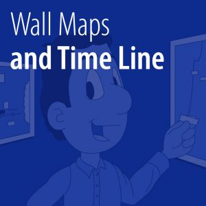 Wall Maps and Time Line tile
